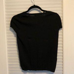 LOFT Tops - Knit black tee